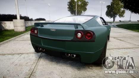 Dewbauchee Super GTR pour GTA 4 Vue arrière de la gauche