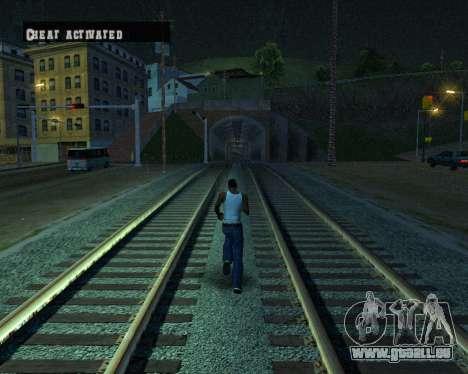 Colormod Dark Low pour GTA San Andreas neuvième écran