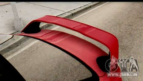 Mitsubishi Lancer Evolution FQ-400 V2 pour GTA San Andreas vue de droite