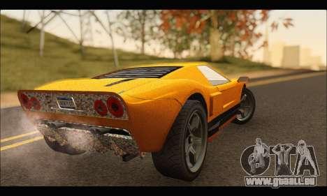 Vapid Bullet Gt (GTA IV) (Stickers Edition) pour GTA San Andreas vue de droite
