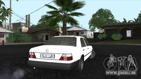 Mercedes-Benz W124 für GTA San Andreas linke Ansicht