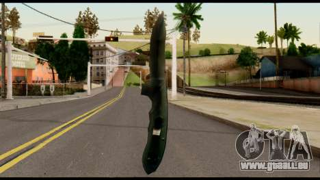 Solidsnake CQC Knife from Metal Gear Solid für GTA San Andreas