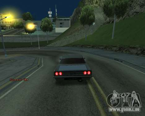 Car Speed für GTA San Andreas dritten Screenshot