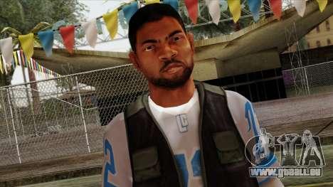 GTA 4 Skin 21 pour GTA San Andreas troisième écran