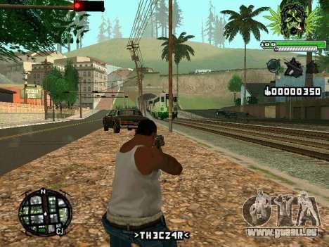 C-HUD Marihaus pour GTA San Andreas