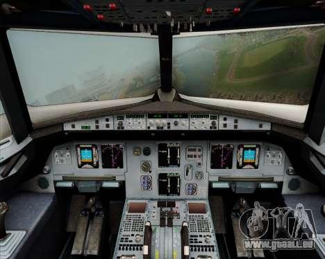 Airbus A320-200 Citilink für GTA San Andreas Innen
