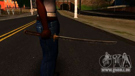 Katana from Shadow Warrior pour GTA San Andreas troisième écran