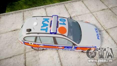 BMW 325d E91 2010 Metropolitan Police [ELS] für GTA 4 rechte Ansicht
