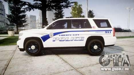 Chevrolet Tahoe 2015 LCPD [ELS] für GTA 4 linke Ansicht