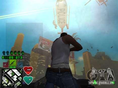 C-HUD Classic v4.1 für GTA San Andreas dritten Screenshot