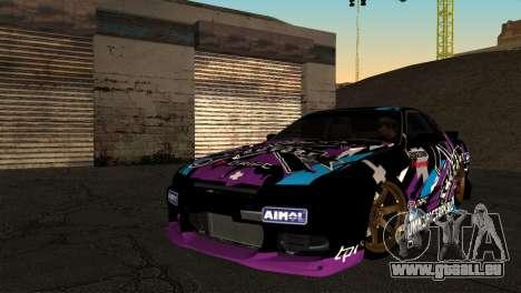 Nissan Skyline R32 Tuning Factory pour GTA San Andreas