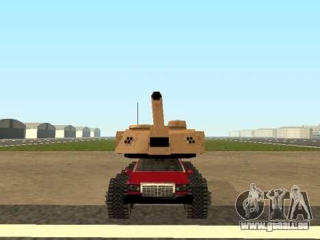Tink Tank pour GTA San Andreas sur la vue arrière gauche