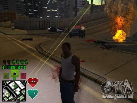 C-HUD Classic v4.1 pour GTA San Andreas cinquième écran