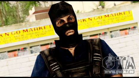 Counter Strike Skin 2 für GTA San Andreas dritten Screenshot