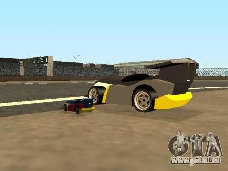 RC Bandit (Automotive) pour GTA San Andreas vue de dessous