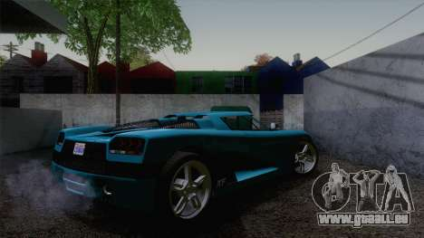 GTA V Overflod Entity XF v.2 pour GTA San Andreas laissé vue