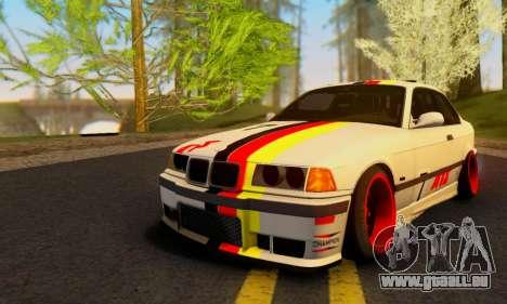 BMW M3 E36 German Style für GTA San Andreas