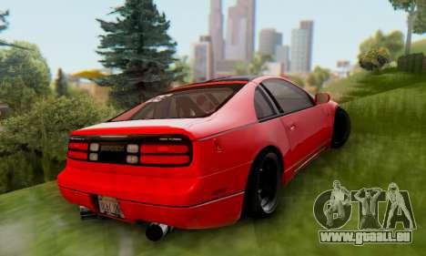 Nissan 300XZ The Rolling pour GTA San Andreas vue de droite