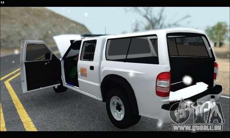 Chevrolet S-10 P.N.A für GTA San Andreas rechten Ansicht