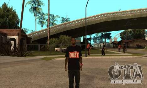Obey Nigga für GTA San Andreas