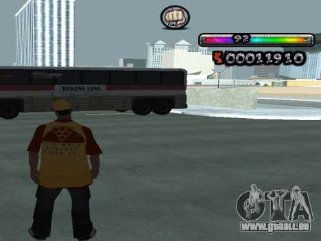 C-HUD par nester_n pour GTA San Andreas troisième écran
