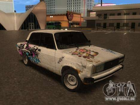 VAZ 2105 Rusty Trog für GTA San Andreas