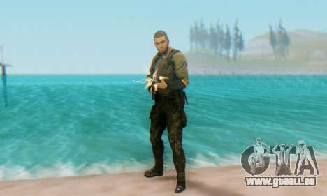 Sam Fisher - Paladin Outfit (Splinter Cell Black für GTA San Andreas her Screenshot