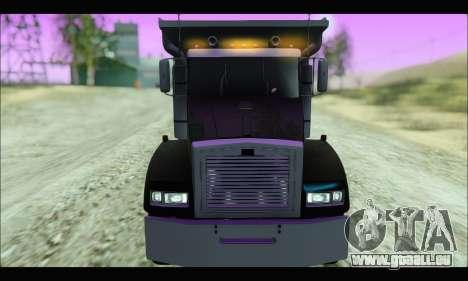 HVY Biff (GTA IV) pour GTA San Andreas sur la vue arrière gauche