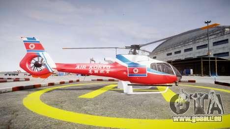 Eurocopter EC130 B4 Air Koryo für GTA 4 linke Ansicht