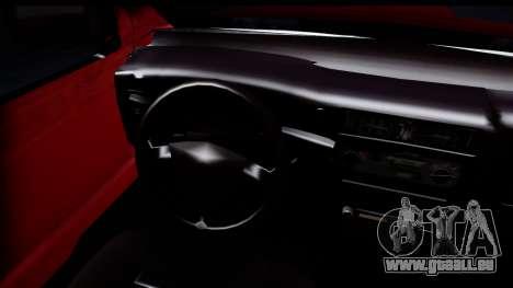 Toyota Hilux FB pour GTA San Andreas sur la vue arrière gauche