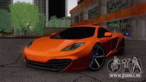 McLaren MP4-12C Gawai v1.5 pour GTA San Andreas