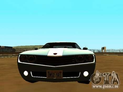 GTA 5 Bravado Gauntlet pour GTA San Andreas sur la vue arrière gauche