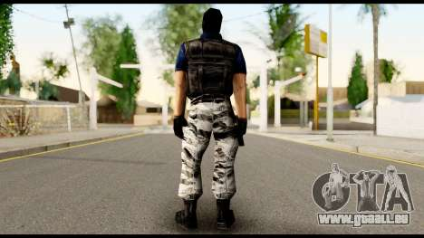 Counter Strike Skin 2 für GTA San Andreas zweiten Screenshot