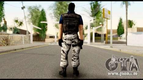Counter Strike Skin 2 für GTA San Andreas zweiten Screenshot