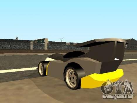 RC Bandit (Automotive) pour GTA San Andreas vue de côté