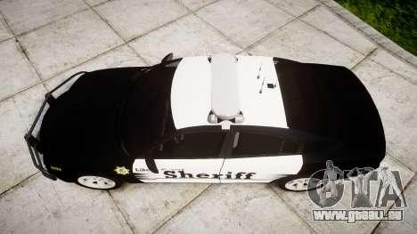 Dodge Charger 2013 County Sheriff [ELS] v3.2 für GTA 4 rechte Ansicht