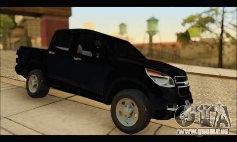 Chevrolet S10 LS 2013 pour GTA San Andreas