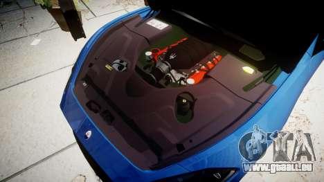 Maserati GranTurismo MC Stradale pour GTA 4 est une vue de l'intérieur