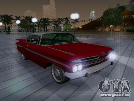 Chevrolet Impala 1959 für GTA San Andreas Seitenansicht