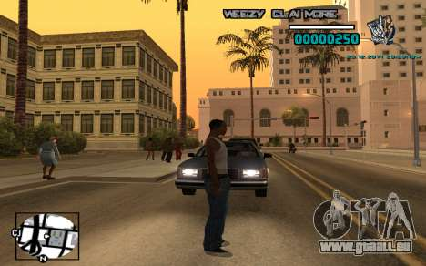 C-HUD Weezy für GTA San Andreas