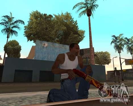 Neues Jahr-Waffen-pack v2 für GTA San Andreas her Screenshot
