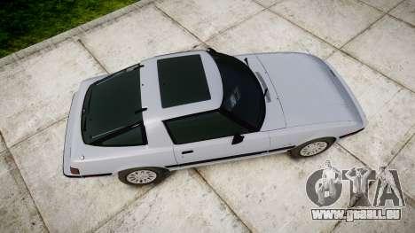 Mazda RX-7 1985 FB3s [EPM] pour GTA 4 est un droit