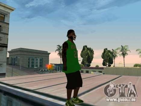 Fam3 Skin pour GTA San Andreas quatrième écran