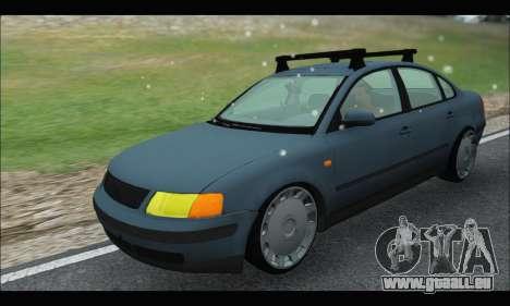 VW Passat für GTA San Andreas Rückansicht