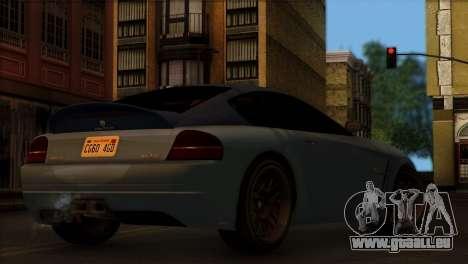 Schyster Fusilade Sport 1.0 (IVF) pour GTA San Andreas laissé vue