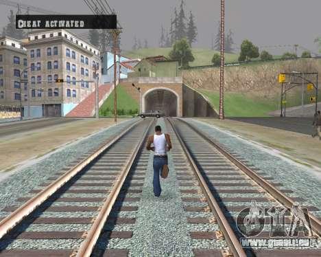 Colormod Dark Low pour GTA San Andreas quatrième écran