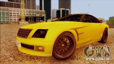 Schyster Fusilade Sport 1.0 (IVF) pour GTA San Andreas vue intérieure