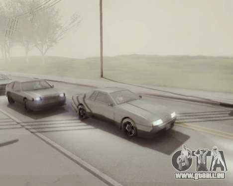Graphique Mod v5.0 для GTA San Andreas pour GTA San Andreas cinquième écran