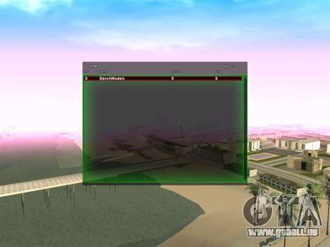 New green SampGUI pour GTA San Andreas