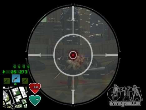 C-HUD Classic v4.1 pour GTA San Andreas quatrième écran